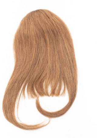 Chestnut Brown Clip-In Bang
